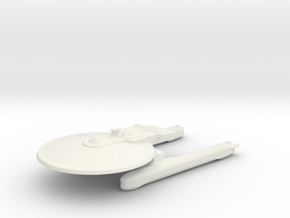 USS LEAVENWORTH in White Natural Versatile Plastic