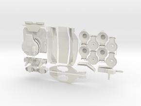 Goliath Kit (Smaller Scale) in White Natural Versatile Plastic