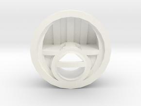 Head light reflector Adventure D90 D110 Gelande 1: in White Processed Versatile Plastic