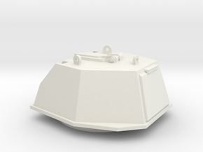 DShKM-2BU  Turret 1:35 scale in White Natural Versatile Plastic
