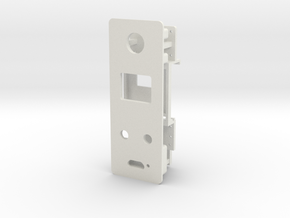 Starplat - Faceplate v1 in White Natural Versatile Plastic