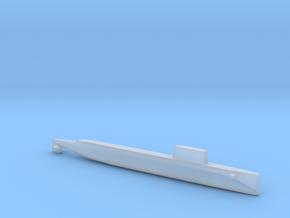 USS Triton (1962), Full Hull, 1/1800 in Smooth Fine Detail Plastic