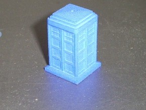 TT Type 40 Mark 1 TARDIS 1/87 Scale in Blue Strong & Flexible Polished