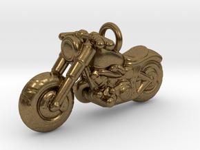 Harley Davidson Pendant in Natural Bronze