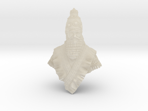 noble Assyrian in White Acrylic