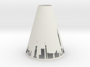 Pendant Light NYC in White Natural Versatile Plastic
