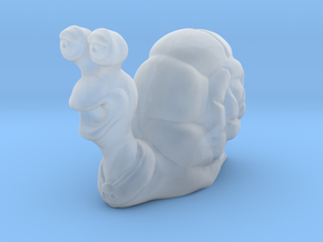 Snail Miniature in Smooth Fine Detail Plastic