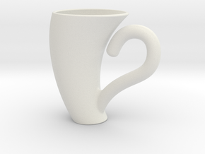 Lean Expresso Cup in White Natural Versatile Plastic
