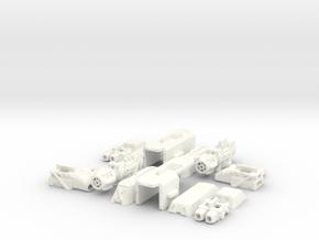 1/60 '19-Style Arm Cannon (L+R) in White Processed Versatile Plastic