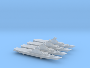 Kiev-Class Carrier x 4, 1/6000 in Smooth Fine Detail Plastic