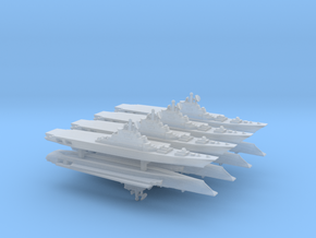 Kiev-Class Carrier x 8, 1/6000 in Smooth Fine Detail Plastic