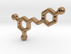 Wine Chemistry in Polished Brass