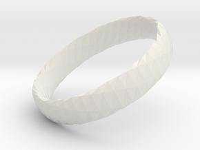 Twistium - Bracelet P=160mm h15 in White Natural Versatile Plastic