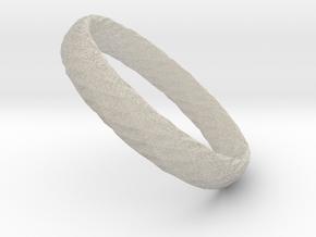 Twistium - Bracelet P=180mm h15 in Natural Sandstone