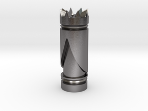 CHESS ITEM RAINHA / QUEEN in Polished Nickel Steel