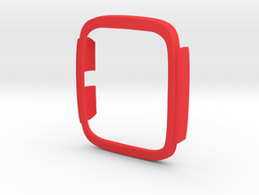 Asus Zenwatch 2 Bumper case in Red Strong & Flexible Polished: Large