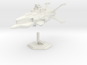 Star Sailers - Vulcarian - Patrol Cruiser  in White Strong & Flexible