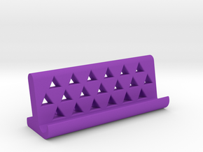universal smartphone dock  in Purple Processed Versatile Plastic