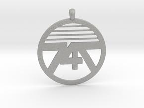 747 Necklace in Aluminum