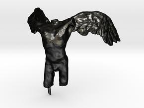 Angel 50 mm in Matte Black Steel