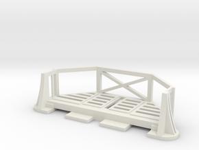 Basic Bulkhead Balcony V1  in White Strong & Flexible