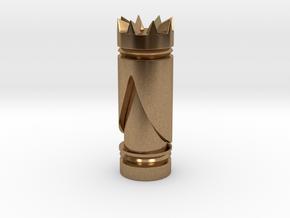 CHESS ITEM RAINHA / QUEEN in Natural Brass