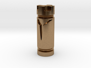 CHESS ITEM REI / KING in Natural Brass