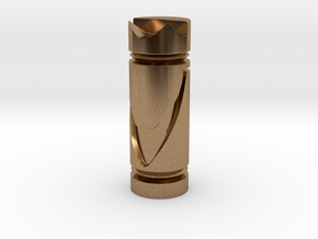 CHESS ITEM CAVALO / KNIGHT in Natural Brass