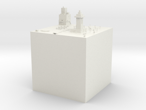 Gurfun's minecraft competition submission in White Natural Versatile Plastic
