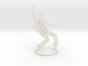 RockStar Dancin'- Statuette  in White Strong & Flexible