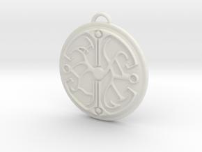 Dreamfall TLJ Balance Talisman in White Natural Versatile Plastic