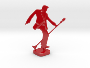 StarRockin'- Statuette in Gloss Red Porcelain