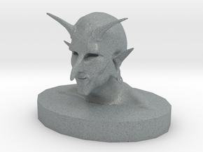 Troll Demon in Polished Metallic Plastic