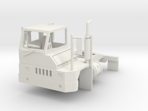 Yard Tractor 1-87 HO Scale RHD White Strong & Flex in White Natural Versatile Plastic