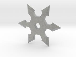 Shuriken Star 10cm in Metallic Plastic