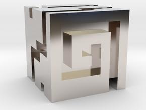 Nuva Cube in Platinum