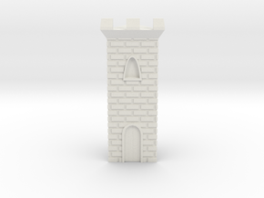 Castle Panic Castle w/ Door in White Strong & Flexible