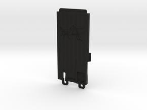 043001-01 Battery Door Grasshopper in Black Natural Versatile Plastic