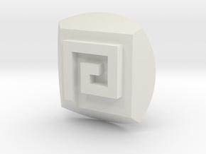 Gali Nuva Symbol in White Natural Versatile Plastic