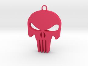 Skull in Pink Processed Versatile Plastic