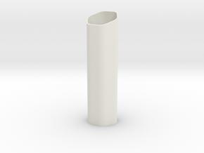 Small Vase for Pon Pushpin in White Natural Versatile Plastic