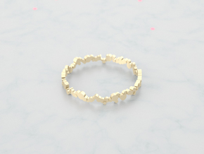 Doty in 18k Gold Plated Brass