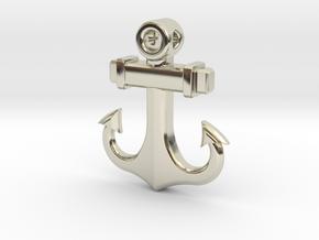 Anchor Pendant (CustomMaker) in 14k White Gold