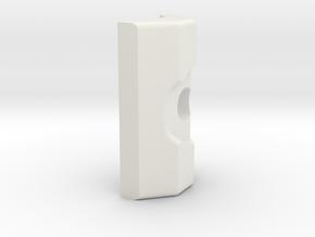 LSR Ring [Bottom Addon] in White Natural Versatile Plastic