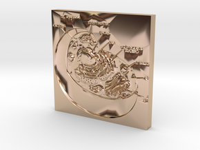Cell Diagram Yourgenome in 14k Rose Gold