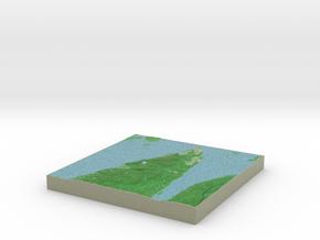 Terrafab generated model Thu Apr 28 2016 17:44:25  in Full Color Sandstone