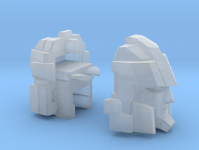 Blocky Driller's Head Combiner Tank Version in Smooth Fine Detail Plastic