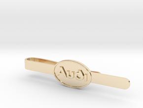 Luxury Audi Tie Clip - Classic in 14K Yellow Gold