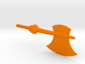 Prime Axe 2 in Orange Processed Versatile Plastic