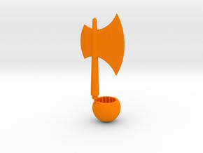 Prime Axe 1 in Orange Processed Versatile Plastic